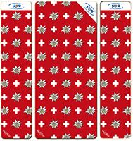 007 ADRI «Swiss-Edelweiss ROT» 4 Sitzplätze